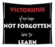 Inspirational Victorious Tee Design We Will Be Tapestry