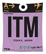 Itm Osaka Luggage Tag I Tapestry