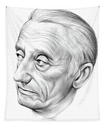 Jacques-yves Cousteau Tapestry