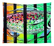 Jail Fish 135826 Tapestry