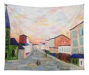 Japanese Colorful And Spiritual Nuance Of Maurice Utrillo Tapestry