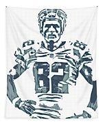 Jason Witten Dallas Cowboys Pixel Art 22 Tapestry