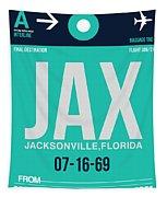 Jax Jacksonville Luggage Tag II Tapestry