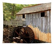 John Cable Mill In Cades Cove Historic Area In Smoky Mountains Tapestry