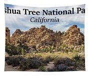 Joshua Tree National Park Box Canyon, California Tapestry