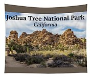 Joshua Tree National Park Box Canyon, California Tapestry