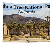 Joshua Tree National Park Valley, California Tapestry