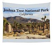 Joshua Tree National Park Valley, California Tapestry