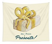 Joy, Peace And Presents Tapestry