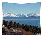 Kachemak Bay And Homer Alaska Tapestry