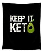 Keep It Keto Tapestry