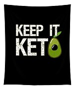Keep It Keto Tapestry