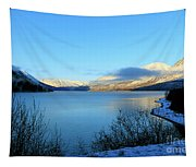 Kenai Lake Primrose Kenai Peninsula Alaska Tapestry
