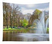 Keukenhof Tulip Garden Holland Tapestry