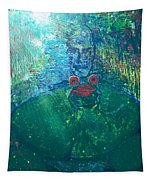 Kiss A Frog Tapestry