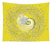 Lacy Look Shell Tapestry