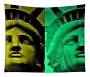 Lady Liberty For All Tapestry