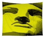 Lady Liberty In Yellow Tapestry