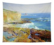 Laguna Rocks Low Tide 1916 Tapestry