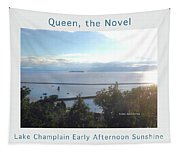 Lake Champlain Early Afternoon Sunshine Enhanced Poster Tapestry