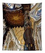 L'altare Di Bernini Tapestry