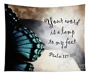 Lamp To My Feet Tapestry