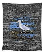 Land Bridge Gull Tapestry by Patti Whitten