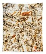 Landmarks And Postmarks Tapestry