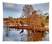 Langan Park Island Reflections Tapestry