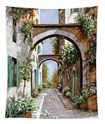 L'arco Dell'angelo Tapestry