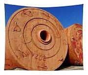 Large Vintage Mooring Buoys Tapestry