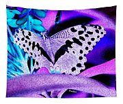 Lavender Butterfly Tapestry