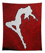 Leap Of Faith Original Painting Tapestry