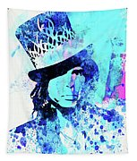 Legendary Aerosmith Watercolor Tapestry