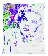 Legendary Judy Garland Watercolor I Tapestry