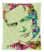 Legendary Marlon Brando Watercolor Tapestry