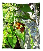 Light The Butterfly Tapestry by Robert Knight