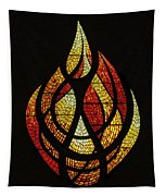 Lighting The Way - Wayland Kaltwasser Flame Tapestry