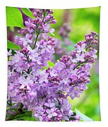 Lilac Flowers Tapestry
