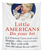 Little Americans Do Your Bit Tapestry