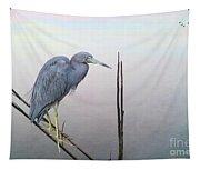 Little Blue Heron Tapestry