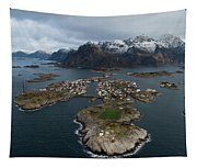 Lofoten Henningsvaer Tapestry