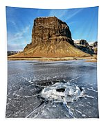 Lomagnupur Mountain Iceland Tapestry