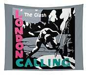 London Calling The Clash Tapestry For Sale By Amy Belonio