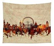 London Skyline Sepia Tapestry