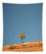 Lone Tree Big Sky Tapestry