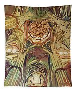 Looking Up Salamanca Cathedral Tapestry
