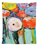 Love Of Poppies Tapestry