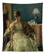 Lovelorn, 19th Century Tapestry