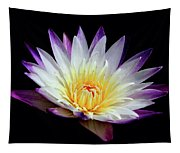 Lovely Lily In Water Tapestry